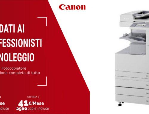 Offerta Noleggio Multifunzione Canon 2530i